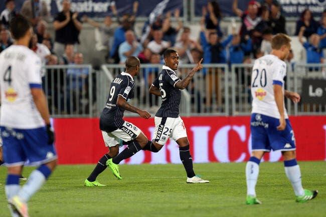 FCGB : Courtisé par Monaco, Malcom affiche ses ambitions à Bordeaux