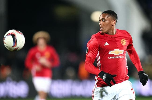Mercato : L'OL s'active pour faire revenir Anthony Martial de Man Utd