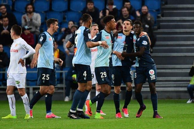 L2 : Le Havre - Lens 1-0