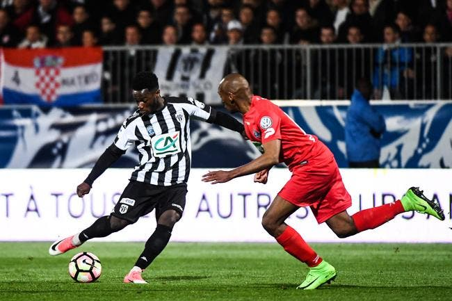 CdF : Angers – Guingamp 2-0