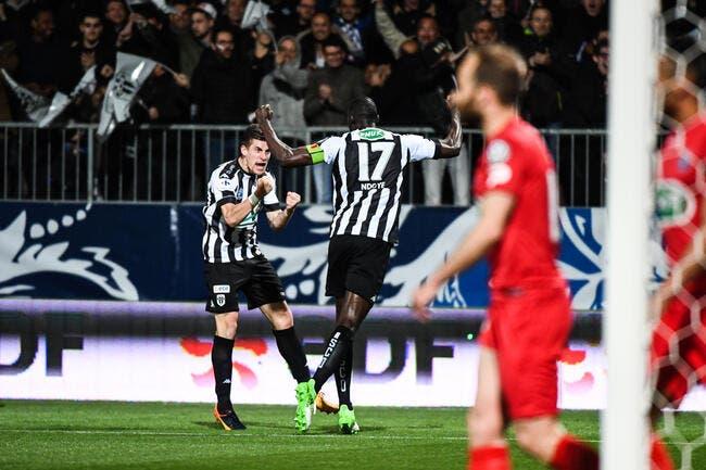 CdF : Angers va en finale après un finish à couper le souffle