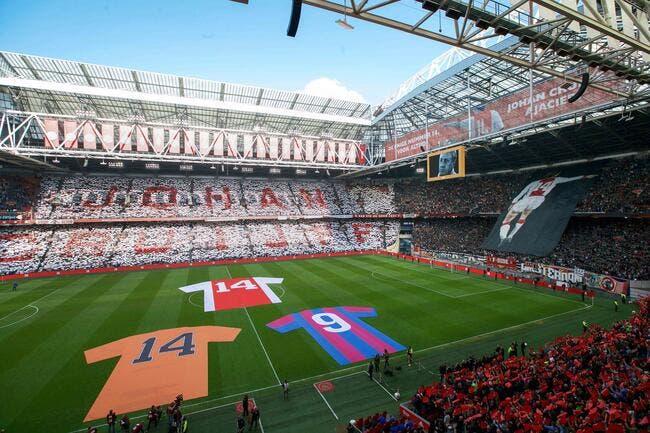 Le stade de l'Ajax d'Amsterdam renommé en l'honneur de Johan Cruyff