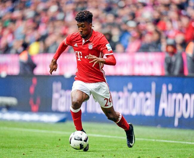 Kingsley Coman transféré au Bayern Munich — Officiel