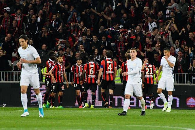 L1 : Le PSG pète un câble à Nice, le titre part en fumée