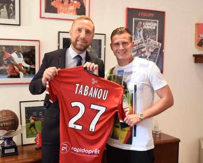 Officiel : Tabanou jusqu'en 2019 à Guingamp