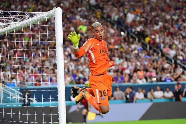 PSG : Areola dément avoir gaffé sur le dossier Neymar