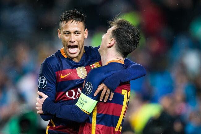 Neymar au PSG, Messi dit au revoir à son ami