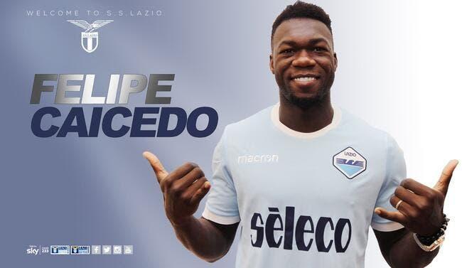 Officiel : Felipe Caicedo débarque à la Lazio