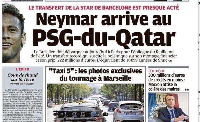 PSG : La Une de la Provence sur Neymar écoeure Pierre Ménès