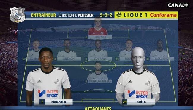 L1 : Quand Amiens aligne un joueur fantôme contre le PSG