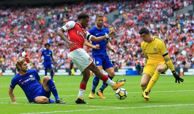 Arsenal - Chelsea : 1-1 (4 tab à 1)