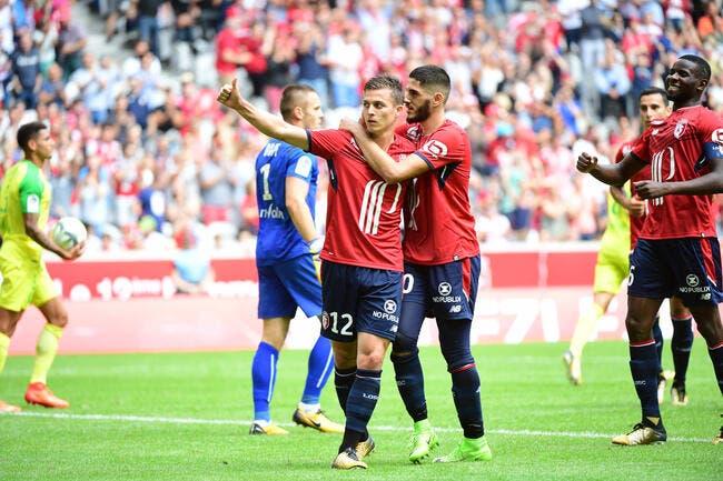 Lille - Nantes : 3-0