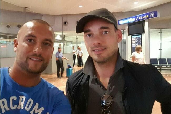 Mercato : Sneijder est arrivé à Nice pour signer son contrat !