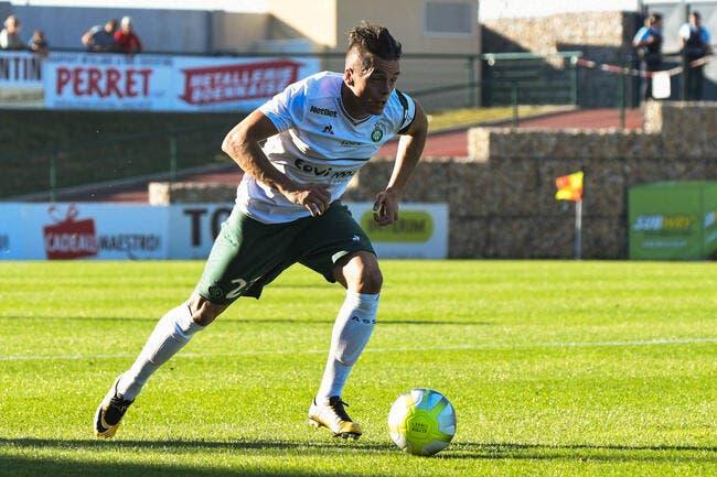 L1 - Saint-Etienne : Trois ans de plus pour Romain Hamouma