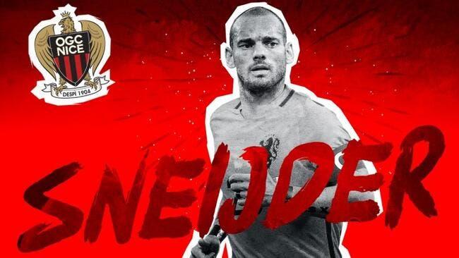Officiel: Quel coup ! Wesley Sneijder a signé à Nice