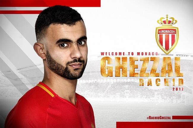 Officiel: Rachid Ghezzal signe à Monaco!