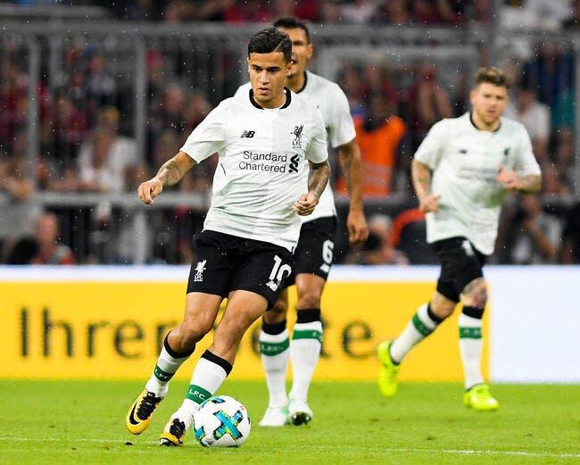 Barcelone : Liverpool craque, Coutinho va partir pour 90 ME