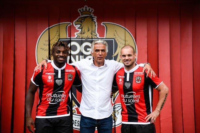 Nice : Sneijder pas opérationnel avant plusieurs semaines ?