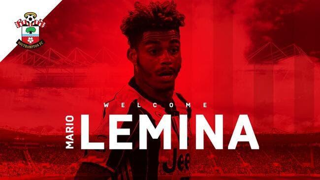 Officiel: Mario Lemina transféré à Southampton