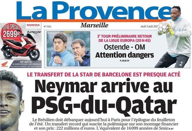 OM: Le PSG-du-Qatar ? La Provence répond à Riolo et Ménès