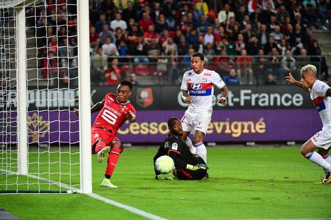 L1 : Lyon et Mariano le prouvent à Rennes, c'est du sérieux !