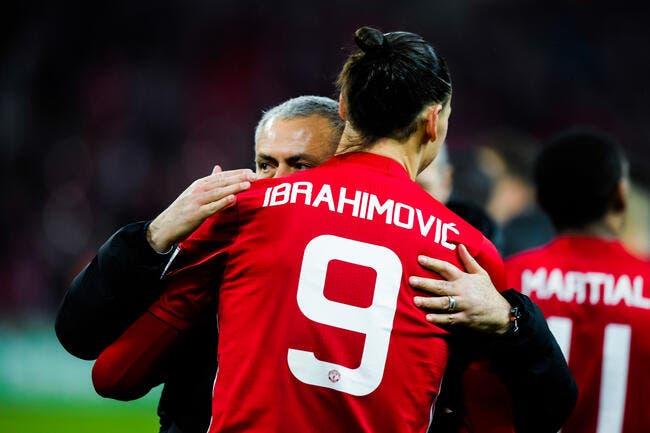 Mourinho ouvre grand la porte à un retour d'Ibrahimovic — Manchester United