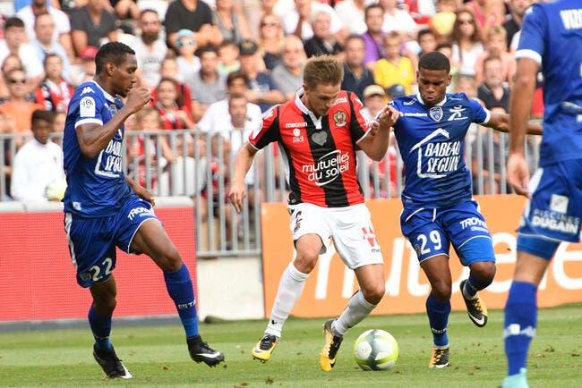 Nice - Troyes : 1-2