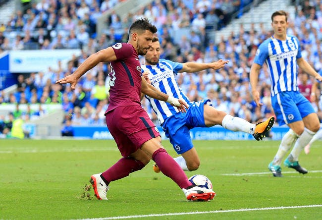 Brighton - Manchester City : 0-2