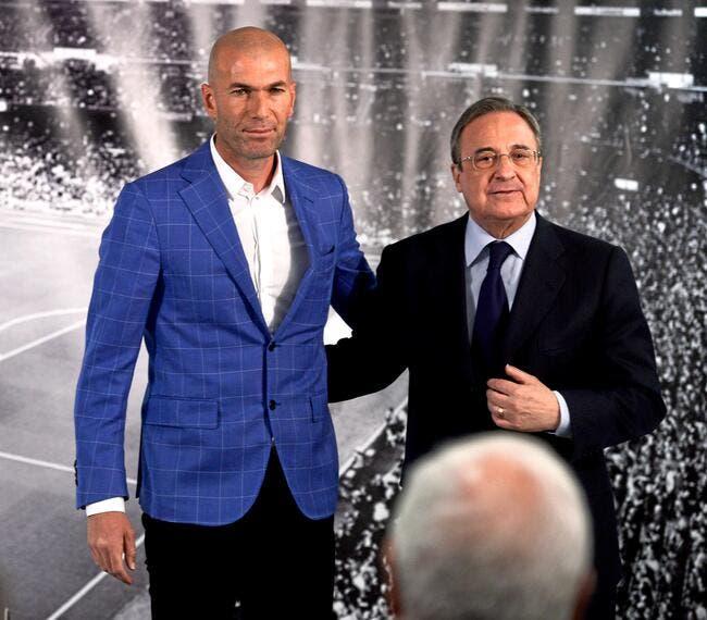 Liga : Zidane confirme sa prochaine prolongation au Real Madrid