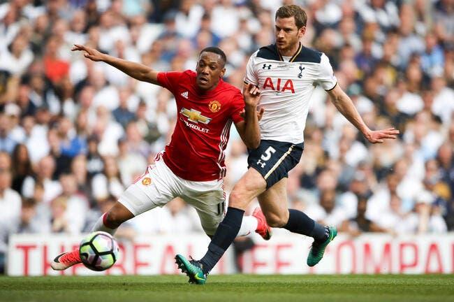 Mercato: Tottenham et l'Inter recalés par Manchester United pour Martial