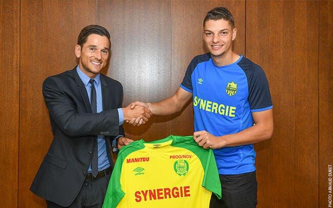 Andrei Girotto s'engage pour quatre ans avec Nantes