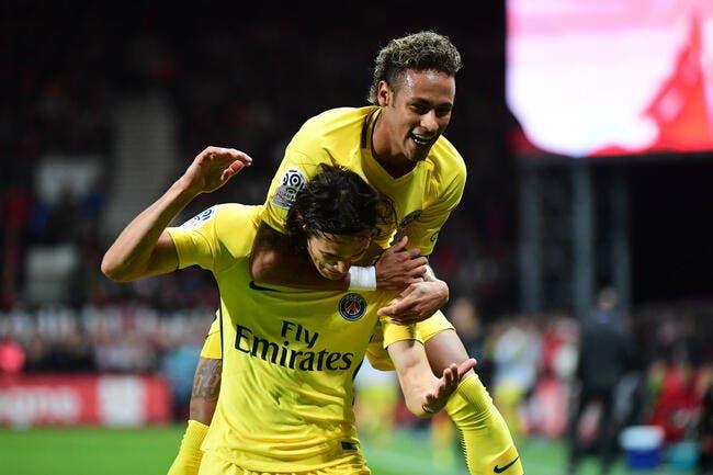 L1 : Neymar régale d'entrée, le PSG en profite à Guingamp
