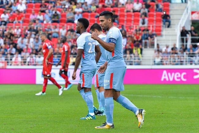 Mbappé puni, Falcao se régale face à Dijon