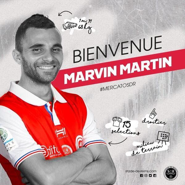 L2 : Marvin Martin signe à Reims