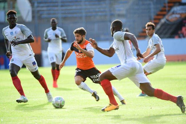 Lorient - Châteauroux : 3-0