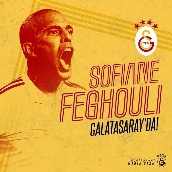 Officiel : Sofiane Feghouli transféré à Galatasaray