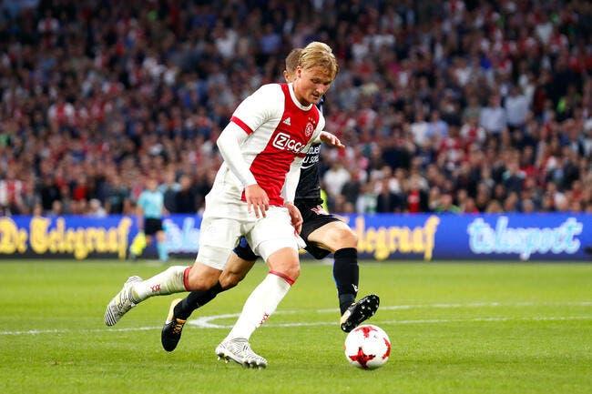 Mercato : Kasper Dolberg très proche de Monaco ?