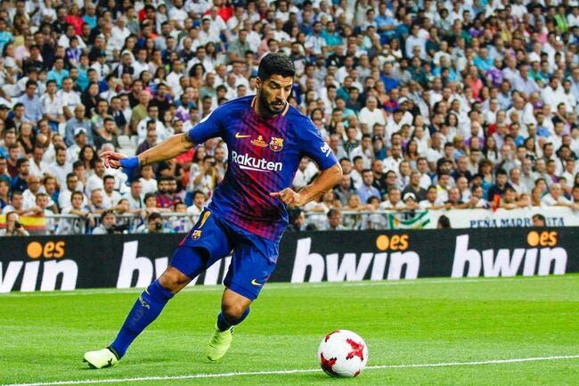 Barça: Luis Suarez, un coup dur de plus!