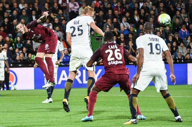 Metz - Monaco : 0-1