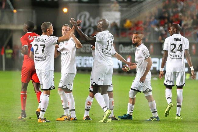 DFCO : Dijon a retrouvé ses qualités, Rennes l'a compris trop tard