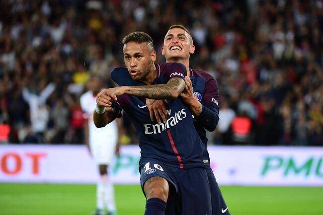 L1 : À 10, le PSG de Neymar cartonne Toulouse !