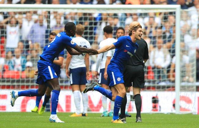 Tottenham - Chelsea : 1-2