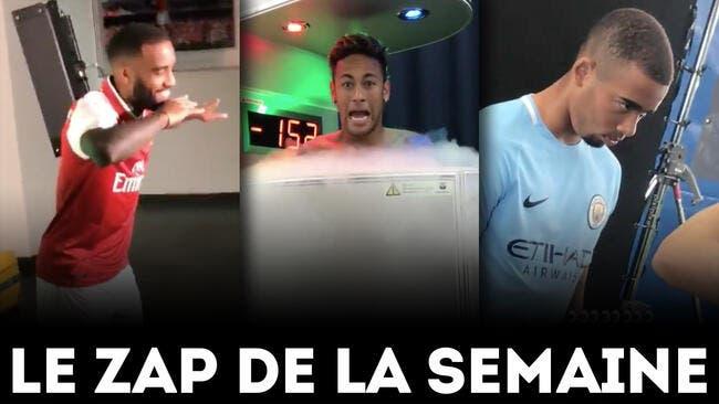 Vidéo : La folie Neymar à Paris, Balotelli royal au bar, Daniel Alves on fire