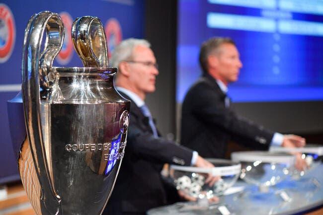 Live vidéo : Le tirage au sort de la Ligue des champions à 18h