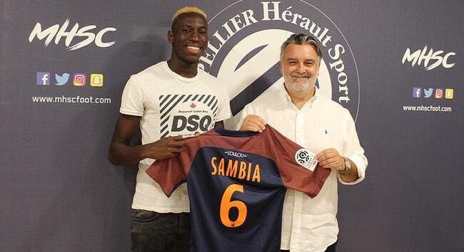 Officiel : Junior Sambia signe à Montpellier