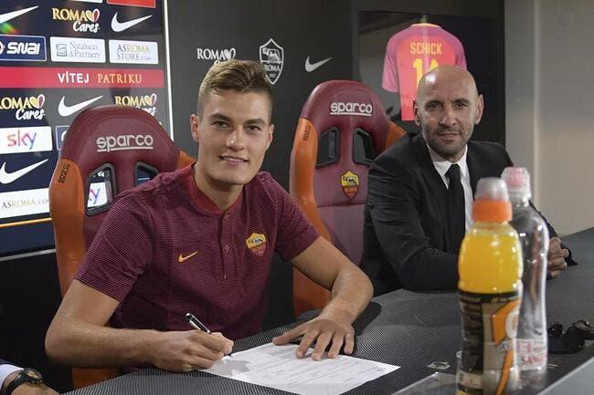 AS Rome : Les détails du transfert de Patrick Schick