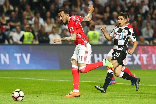 Ligue 1 - Le buteur Mitroglou (Benfica) a signé à Marseille