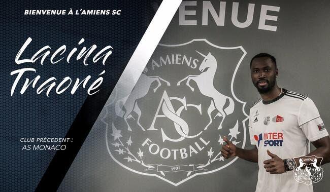 Officiel : Amiens obtient le prêt de Lacina Traoré