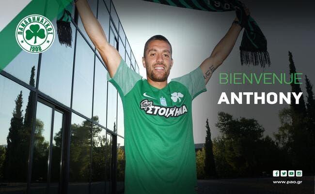 Officiel : Anthony Mounier rejoint le Panathinaïkos