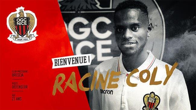 Officiel : Avec Racine Coly, Nice tient son latéral gauche